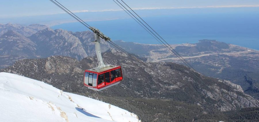 Cable Car in Olympos Mount Antalya